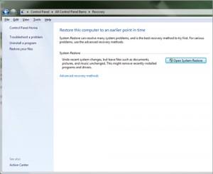Recuperando con una imagen el sistema Windows 7