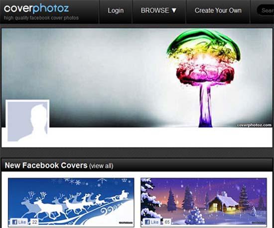 10 herramientas para personalizar la portada de tu Facebook Timeline