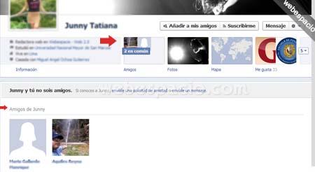 Timeline de Facebook