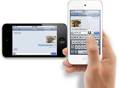 Apple iPod Touch 2011  chat