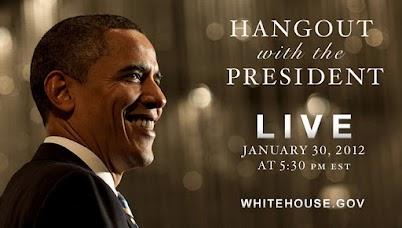 Obama participará de videochat grupal usando hangout de Google+