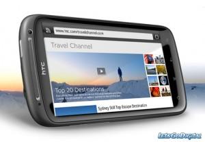 HTC Sensation 4G diseño