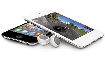 Blanco Apple iPod Touch 2011