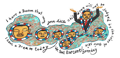 Doodle de martin luther king 2012
