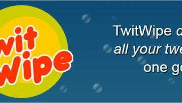 Cómo borrar todos tus tweets con TwitWipe