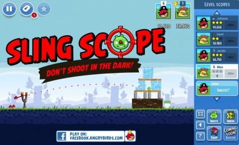 Angry Birds ya está disponible en Facebook