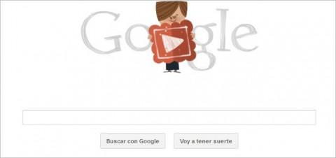 Feliz día de San Valentín con el doodle animado de Google