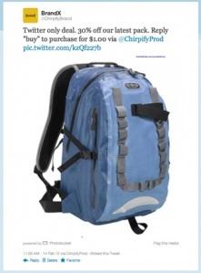 Chirpify: herramienta para compras y ventas directas en  Twitter