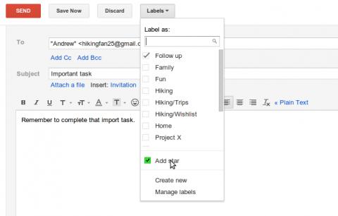 Trucos para Gmail: personalizar botones y etiquetar mensajes antes de enviar