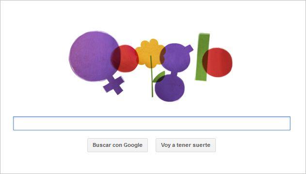 Doodle de Google celebra el Día Internacional de la Mujer