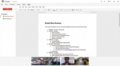 Google+ agrega Google Docs en hangouts y mejora organización de fotos