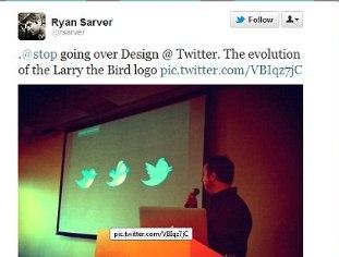 "El pájaro del logo de Twitter se llama ""Larry"""