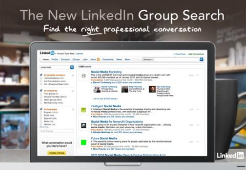 LinkedIn lanza herramienta para búsqueda de grupos