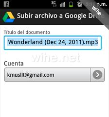 tipo documento google drive