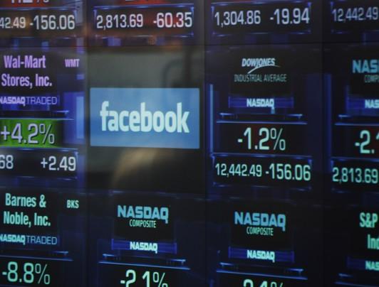 facebook en la bolsB