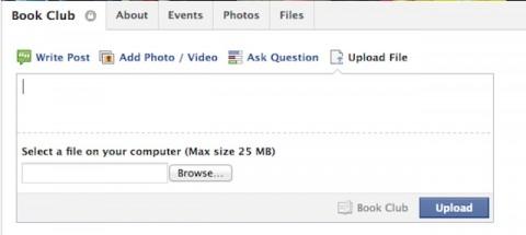 Grupos de Facebook ya pueden compartir archivos de hasta 25 MB
