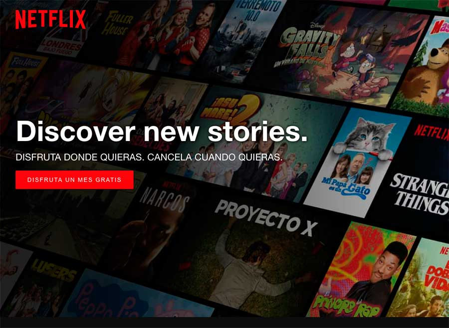 Cómo registrarse en Netflix