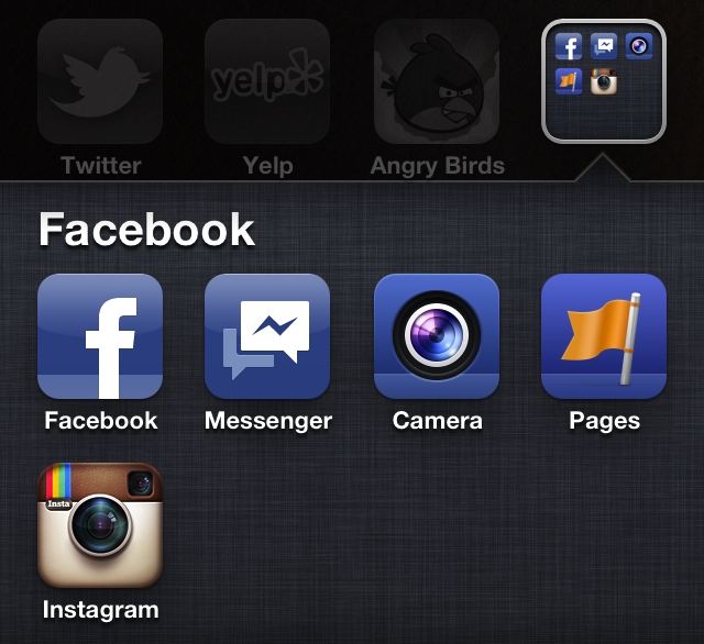 aplicaciones Facebook iPhone