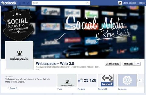 facebook paginas posicionamiento