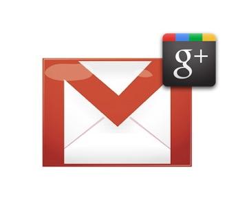 Google plus en Gmail