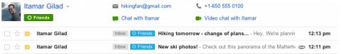 circulos de gogle plus en gmail