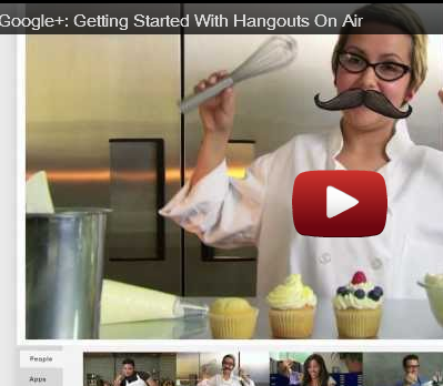 "Google+: transmisiones en vivo con ""Hangouts On Air"""