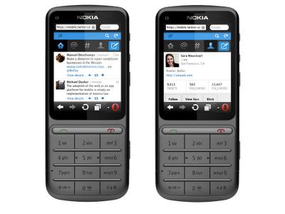 Twitter actualiza sitio web móvil