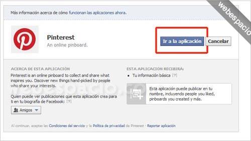 Cómo registrarte en Pinterest (invitaciones) paso 3