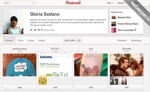 Cómo registrarte en Pinterest (invitaciones)