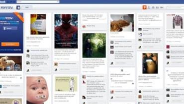 Tu perfil de Facebook al estilo Pinterest con PinView