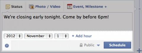 programar mensajes facebook