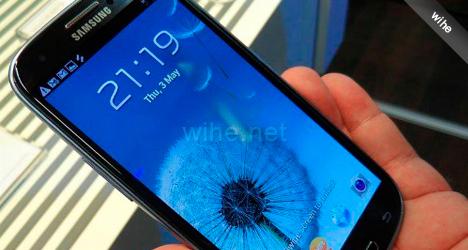 Características Samsung Galaxy S III