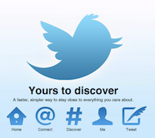 "Twitter anuncia mejoras para la pestaña ""Descubre"""