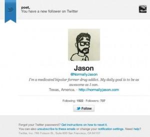 Twitter  nuevos seguidores