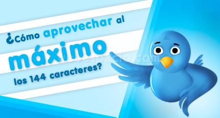 140 caracteres de Twitter