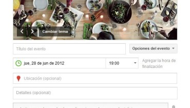 Google+ Eventos