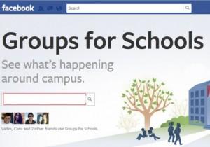 facebook en escuelas