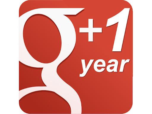Google+ festeja su primer año