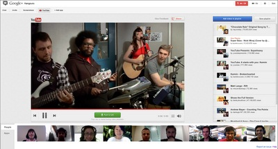 listas videos de Youtube en Google plus