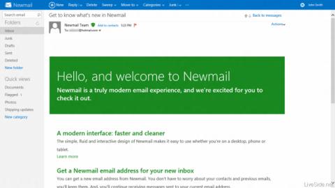 Hotmail rediseño