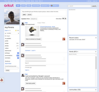 Vincula Orkut con Google plus