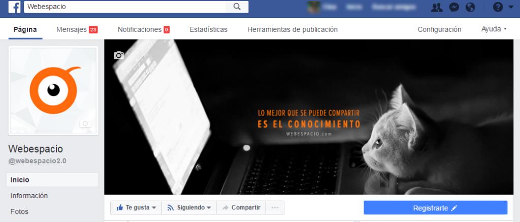 caracteristicas de paginas facebook