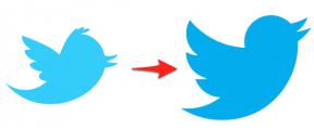 Twitter renueva su logotipo