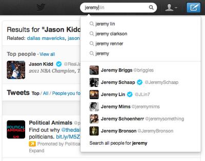 Twitter mejora las búsquedas