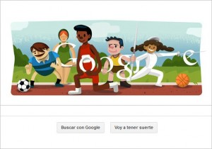 Google celebra los Juegos Olímpicos