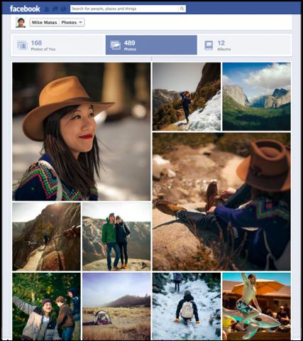 Facebook rediseña sección de fotos