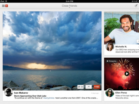Google+ para iPad