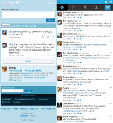 Twitter renueva completamente mobile.twitter.com