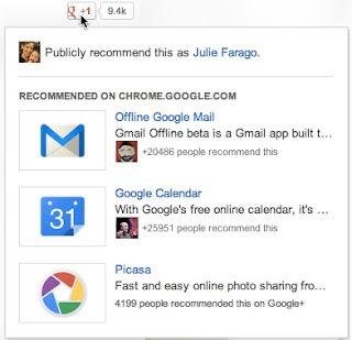Nuevo botón +1 de Google