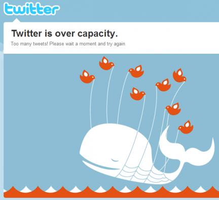 Caen servicios de Twitter y Google Talk en varios países
